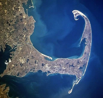 Cape Cod from space