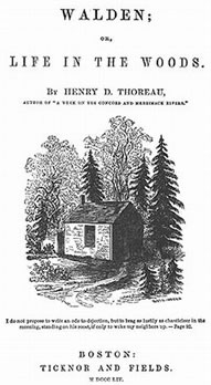 Walden - Title Page